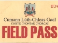 2011 PIFC Final Match Day Field Pass