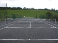 Relocated Tennis Courts