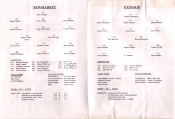 1993 County Junior Football Quarter