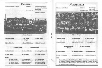 1993 Duhallow Junior Football Final