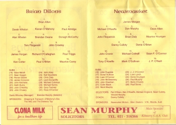1998 County Junior Football Semi