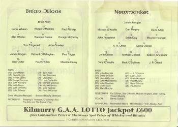 1998 County Junior Football Semi Replay