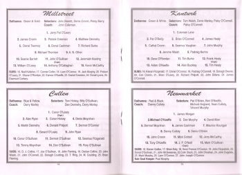 1998 Duhallow Junior Football Semi