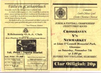 1998 County Junior Football Quarter