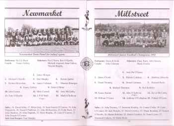 1998 Duhallow Junior Football Final