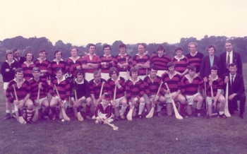 1972 Junior Hurling Runners Up