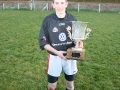 Niall O\'Connor with 2008 U21 Cup