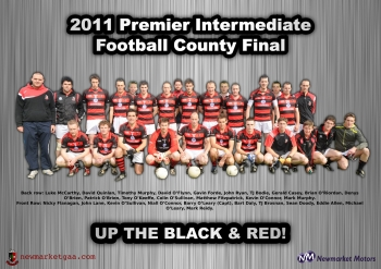 2011 County Final Poster