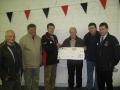 Lotto Winner Cheque Presentation