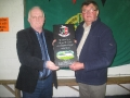 Neilus Collins honoured